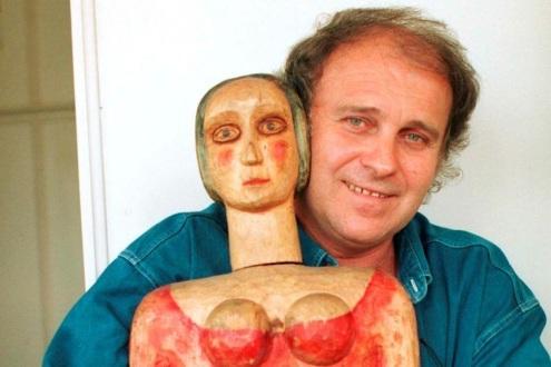 Josef Krofta and Doll