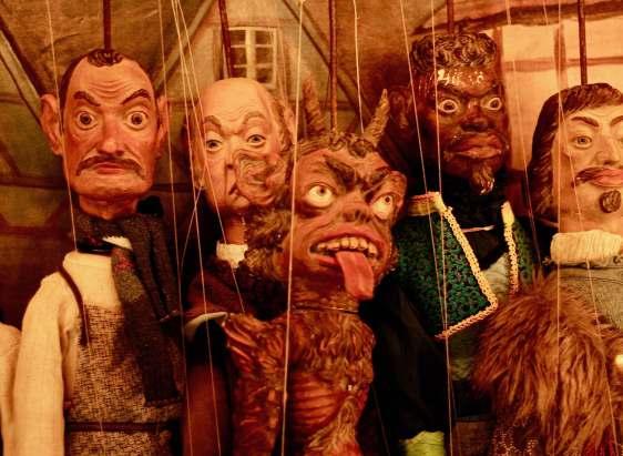 Handa Gote Puppets